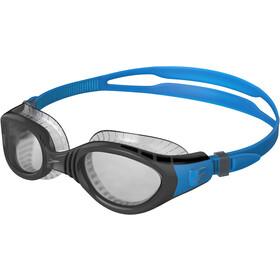 speedo Futura Biofuse Flexiseal Maschera, blu/grigio